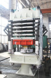 Máquina de borracha Vulcanizing hidráulica de formação de espuma das sapatas de EVA da fonte de China