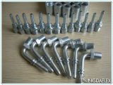Metric Female Thread Forged Stainless Hose Fitting