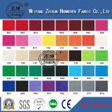 O poliéster 100% tingido colorido Girar-Lig a tela não tecida para o saco de compra