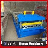 Appuyer la tuile de fer de toit faisant la machine pour la tuile glacée