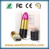 Eindeutiger Hochzeits-Geschenk USB-Flash-Speicher der Form-Dame-Lipstic
