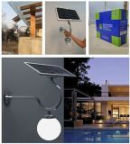 Classics Outdoor Solar LED Waterproof Wall Light com luz alta