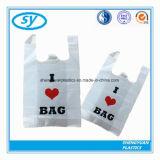 使い捨て可能なHDPE/LDPEのベストはプラスチックショッピング・バッグを扱う
