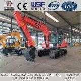 Petite excavatrice moyenne hydraulique neuve Baoding de la chenille Bd150