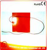Calefator do elemento de aquecimento do silicone 300*300 para a impressora 3D