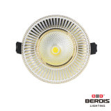colore antico LED Downlight di 7W White+Chrome