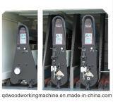 Três resistentes máquina de lixamento principal para o Woodworking