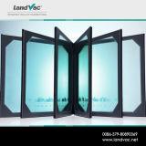 Finestra di vuoto di Landvac e vetro del portello utilizzato nella costruzione e nel bene immobile