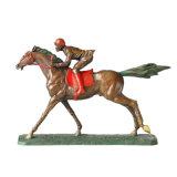 Standbeeld tpe-024 van het Messing van het Decor van het Ras van Hrose van het Beeldhouwwerk van het Brons van sporten Snijdend