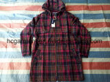 Stock одежды, очень более дешевая повелительница Длинн Зима Пальто цены, износ решетки напольный