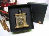 Luxuriöser Cohiba Guillotine-Ziegelstein-Sprachstil-Zigarrenabschneider u. Scheren (ES-EB-017)