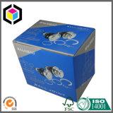 Farbenreicher Versatz-Druck-Bremsen-Platten-gewölbtes Papier-verpackenkasten