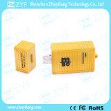Azionamento su ordinazione dell'istantaneo del USB del contenitore di carico del PVC con il marchio (ZYF5044)