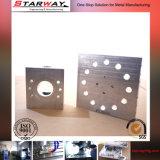 주문을 받아서 만들어진 알루미늄 기계로 가공 CNC 기계로 가공