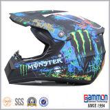 점 낙서 (CR403)를 가진 차가운 백색 Motorcross 헬멧