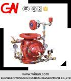 Горячий продавая клапан потока для системы пожарной сигнализации
