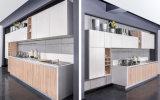 Cabina del MDF de la melamina de los muebles de la cocina (zg-011)