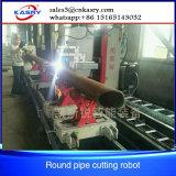 Machine de découpage de profil de pipe de commande numérique par ordinateur d'acier du carbone