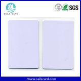 PVC termal Card de Printable White Plastic con Overlay Lamination