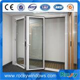Porta de dobradura de alumínio eficiente do perfil da energia barata do produto novo