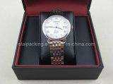 Caixa de relógio plástica do Leatherette do tipo famoso de luxe (LLSBH01)