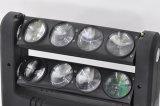 8*10W LED RGBW 4in1 CREE bewegliche Hauptdisco-Beleuchtung