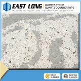 Lajes de mármore da pedra de quartzo da cor para o quartzo Kitchentop