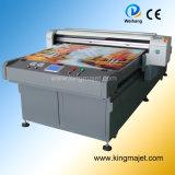Mj1225 4-Color Digital Flatbed Printer para Leather/Leather Printer