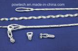 ADSS/Opgwケーブルのためのケーブルの張力クランプケーブルのタイ