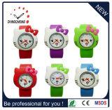 Orologi all'ingrosso poco costosi del silicone di schiaffo dei capretti di modo per i bambini (DC-690)