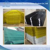 Engranzamento de fio soldado revestido PVC para exportar