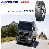 패턴 12r22.5 광선 트럭 타이어를 몰기