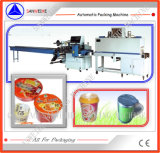 Empaquetadora del encogimiento del té ahuecado de la leche o de los tallarines inmediatos