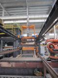 Dispositivo automático da coberta da película da máquina de carcaça do processo do vácuo