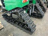 クローラートラクターゴム製トラックトラクター65HPのトラクターの水田のトラクター