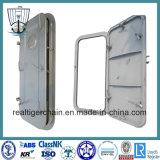 Portello d'acciaio del Singolo-Foglio resistente agli agenti atmosferici marino della nave con il certificato