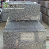 床または壁のクラッディングのための中国白いWavaの花こう岩の磨かれたタイル