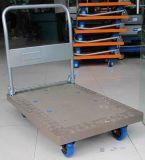 Caminhão de mão plástico da plataforma (cor alaranjada)