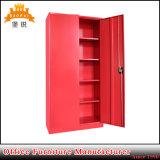 Кухонный шкаф хранения двери качания 2 дешевый стальной