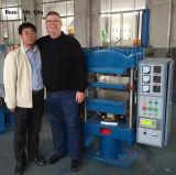 Máquina de vulcanización de goma de la prensa del laboratorio para la prueba de goma