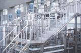 Sistema en grande del biorreactor de la planta