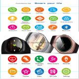 De ronde Telefoon van het Horloge van Bluetooth van het Scherm Slimme (K18)