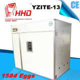 セリウムApprovedとの自動1584年のChicken Eggs Incubator Hatching Machine