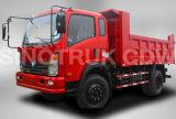 Caminhão de descarga do caminhão 4X2 do camião de Sinotruk Cdw 777 mini