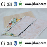Painel de carimbo quente do PVC para a espessura do painel 5/6/7/8mm da decoração do teto e da parede, ISO9001
