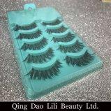 A beleza Hair5 sintético de Lili emparelha a pestana falsa preta da forma