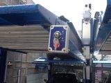 Zwei Pfosten-intelligenter Parken-Aufzug-hydraulisches zwei Stufen-Auto-Höhenruder