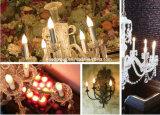 [إ14] [ك35] [3014سمد] [6و] [لد] شمعة ضوء مع واضحة أو تغذية لبنيّ زجاجيّة