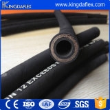 ISO9001 Hydraulische Slang van de Grondstof van het certificaat de Spiraalvormige Rubber