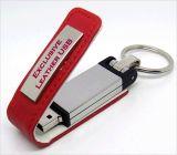 昇進のギフトの昇進の革USBのフラッシュ駆動機構